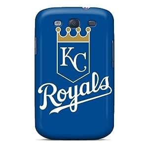 Forever Collectibles Baseball Kansas City Royals Hard Snap-on Galaxy S3 Case