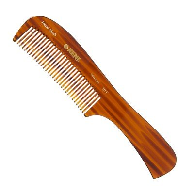 Kent Hand Made 8 Inch Wet/Thick Coarse Hair Rake Comb - 10T by Kent