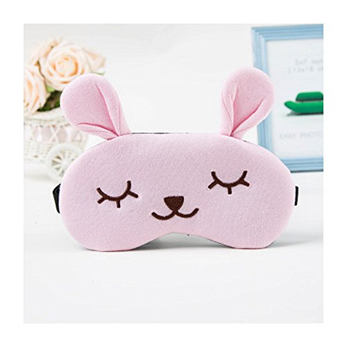 DUNAN Silk Eye Mask Soft Eye Bags Adjustable Sleeping Blindfold for Kids Girls Adult for Yoga Traveling Sleeping Party Hot steam eye mask [Ice patch]134