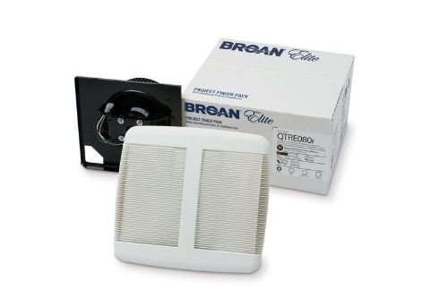 Broan QTREN110F Energy Star Fan Finish Pack – 110 CFM (1 Pack) Review
