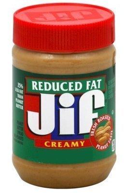 Creamy Peanut Spread (Jif Creamy Reduced Fat Peanut Butter Spread, 16-Ounce (Pack of 6))