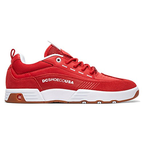 Dc Men's Red Top Low 98 Shoes Legacy Slim Sneaker pwwxB6qOU