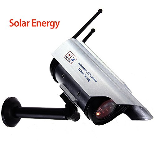 Fake Dummy LED Security CCTV Surveillance Camera Solar Cam Indoor Outdoor by Foxpic