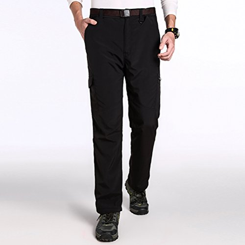 Timeiya Men's Waterproof Breathable Pants for Mountaineering Two-Piece Suit Winter