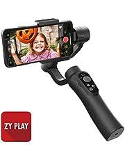 CINEPEER C11 Smartphone Handy Gimbal, integrierte Zoomsteuerung, 3-Achsen-Hand-Gimbal-Stabilisator für iPhone, Android, Vlog, Live-Videoaufnahme