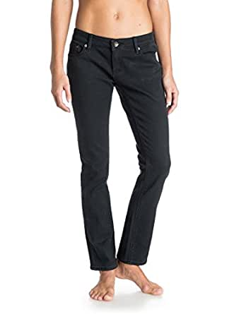 Roxy Womens Suntrippers Colors Pants 24 True Black
