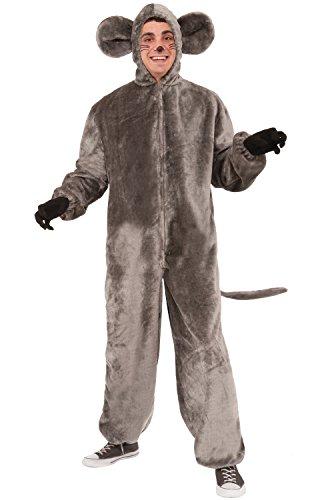 (Forum Novelties Mouse Mascot Costume, Gray,)