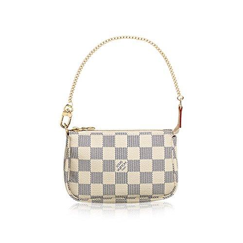 Louis Vuitton Damier Azur Canvas Mini Pochette Accessoires - Vuitton Louis Mini