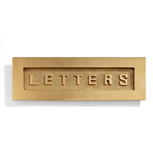 Brass Letter Slot (Naiture Contemporary Solid Brass