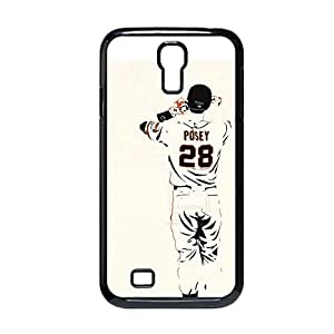 Printing With Buster Posey Nice Back Phone Cover For Kids For Galaxy I9500 S4 Choose Design 4