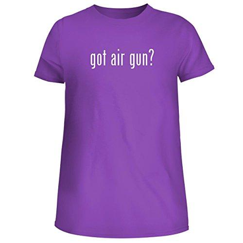 - got air Gun? - Cute Women's Junior Graphic Tee, Purple, Medium