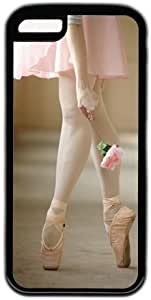 Ballet Pointe Dance With Flower Theme Iphone 5C Case