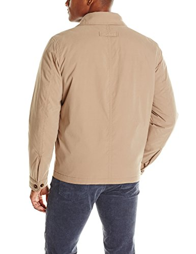 Tommy Cotton Jacket Lightweight Hilfiger Khaki Men's fw6qfErz