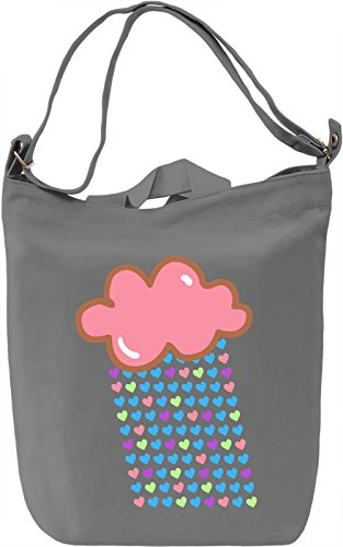 Lovely Cloud Borsa Giornaliera Canvas Canvas Day Bag| 100% Premium Cotton Canvas| DTG Printing|
