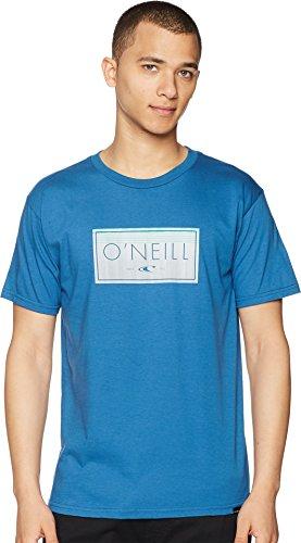 - O'Neill Men's Modern Fit Logo Short Sleeve T-Shirt, Artisan Air Force Blue, L