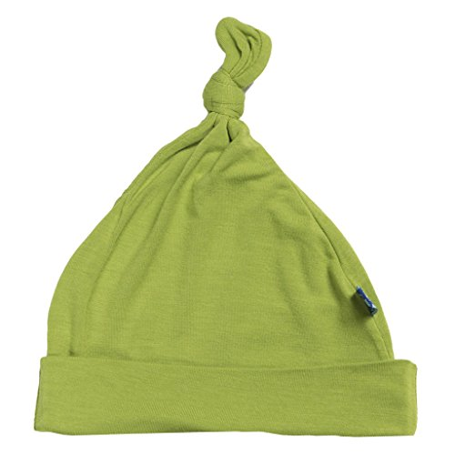 KicKee Pants Basic Knot Hat: Meadow, 0-12 Months
