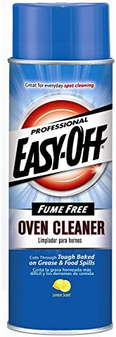 Easy Off Professional Fume Free Max Oven Cleaner, Lemon 24 Ounce (Pack of 1)
