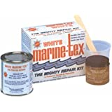 Marine Tex RM306K 1 Lb. White Marine Tex Kit Made by RM305K