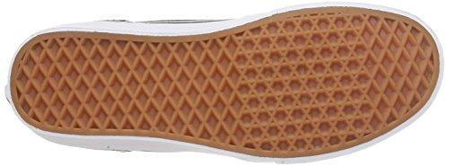 Vans M Milton Hi Suede - Zapatillas bajas para hombre Suede Canvas/Black/White