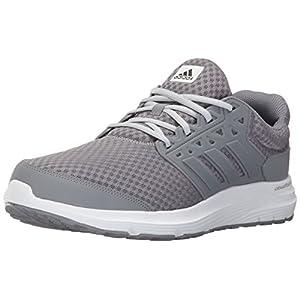 Adidas Men's Galaxy 3 m Running Shoe, Grey/Grey/Clear Grey, 9.5 Medium US