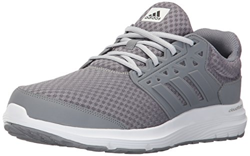 Adidas Leather Wrap - adidas Men's Galaxy 3 m Running Shoe, Grey/Grey/Clear Grey, 12 Medium US