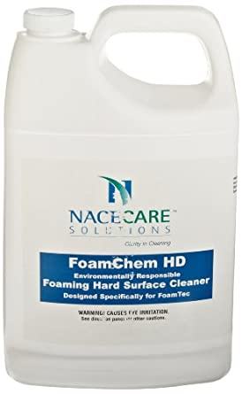 NaceCare 8020950 FoamChem Foaming Hard Surface Restroom Cleaner, 1 Gallon Container (Pack of 4)