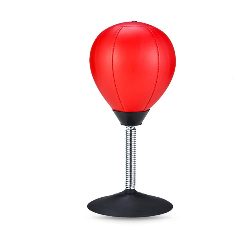 Desktop Punching Ball Heavy Duty soulager la Pression d'aspiration Sac de Boxe autoportante déstresser Vent Bureau Ball Boxe Formation Pratique de Boxe Sandbag Jouet Hilai