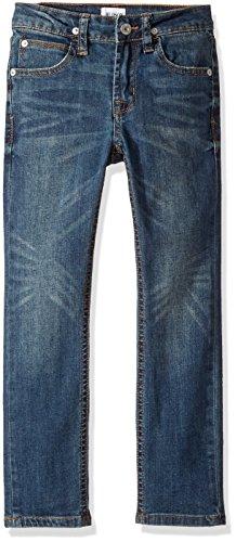HUDSON Boys' Big Jagger Slim Straight Jean, Vintage Sky, 12 - Hudson Vintage Jeans