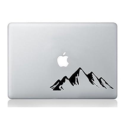 Montañas Hills Macbook Ordenador portátil Pegatina Calcomanía Vinilo Tablet Piel Mural Art Graphic Laptop Vinyl Sticker