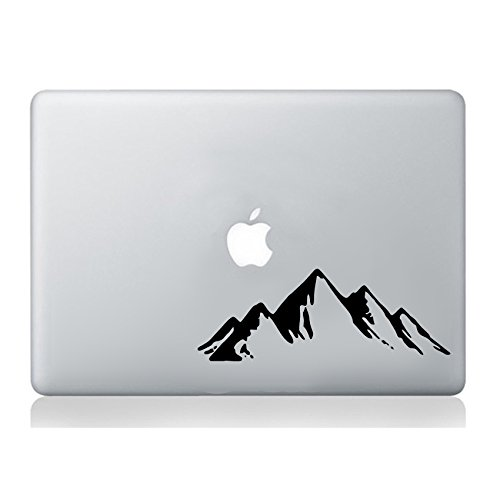 Wall4Stickers Mountains Hills MacBook Laptop Sticker Decal Vinyl Tablet Skin Mural Art Graphic Laptop Vinyl Sticker Sticker MacBook Decal Art ()
