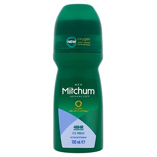 Price comparison product image Mitchum for Men Roll-On Ice Fresh (100ml) - Pack of 6
