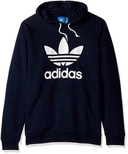 Legend Mens Sweatshirt - adidas Originals Men's Trefoil Hoodie, Legend Ink, XX-Large
