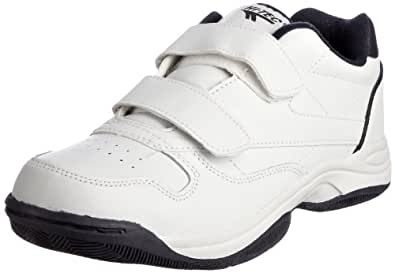 Mens Hi-Tech Casual Walking Trainers - White Coated Leather - UK Size 8 - EU Size 42 - US Size 9