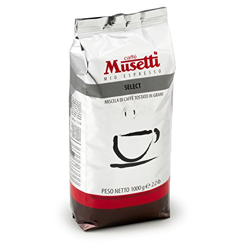 Cheap Musetti Coffee – Select Regular Espresso – Whole Beans – 1 kg (2.2 lb) bag with air valve