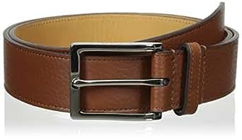 Cole Haan Men's 35 mm Pebble Belt, Cognac, 42