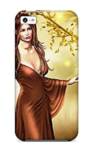 Hot Tpu Cover Case For Iphone/ 5c Case Cover Skin - Fairy Fantasy Abstract Fantasy