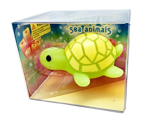 Rittle Cute Turtle, Light-up Sea Animal Bath Toy - Cute Turtle