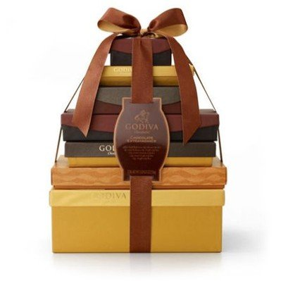Chocolate Extravagance Gift Tower by Gift Basket