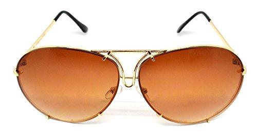 de collection lunettes BIGEYES nouvelle 2018 Star unisexes Millennium Brun soleil Or ZqnSwtxE0