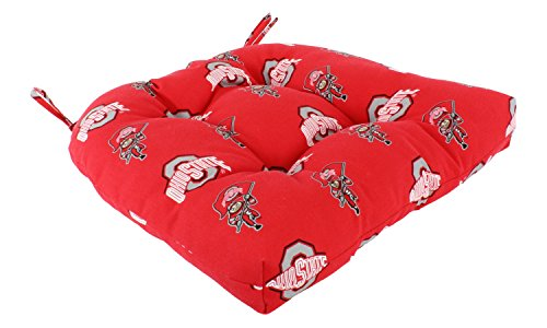 Ohio State Buckeyes Seat Cushion - College Covers NCAA Indoor/Outdoor Seat Patio D Cushion, 20