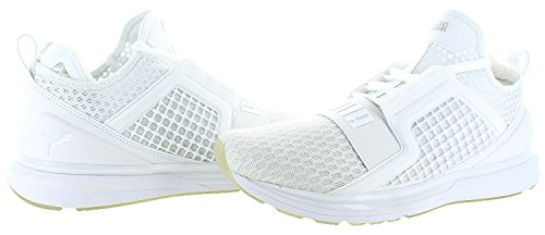 PUMA Men's Ignite Limitless Cross-Trainer Shoe Puma White / Quarry buy cheap many kinds of 100% original sale online cheap pictures sale amazing price 0Hl5mi