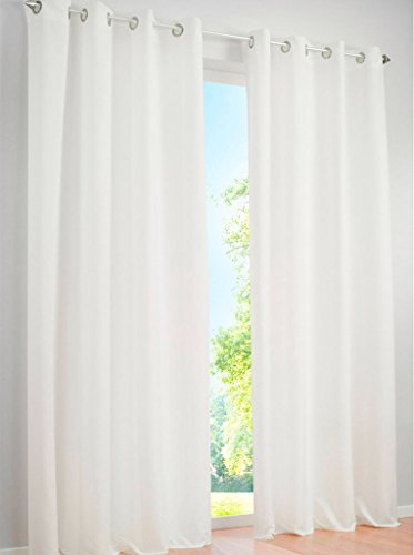 LivebyCare 1pcs Pinkycolor Sheer Window Curtain Panel Grommet Top Voil Window Treatment Drapery Drape Room Divider Partition Curtains Decorative for Family Room Hotel by LivebyCare (Image #1)