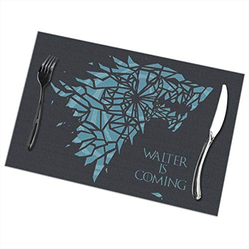 - LucyEve Personalized Game of Thrones Targaryen Dynasty Fashion Placemats for Dining Table Set of 6