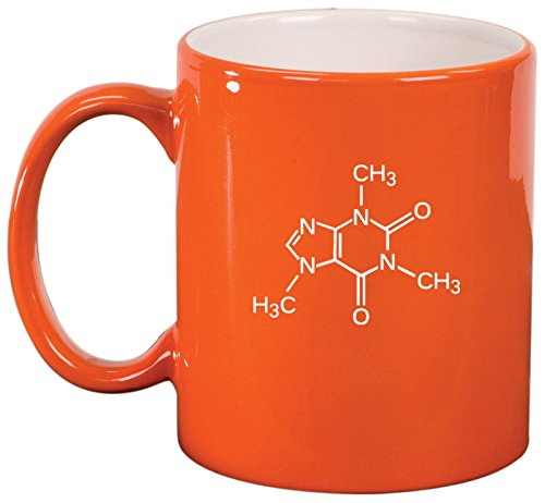 Ceramic Caffeine Molecule Coffee Mug
