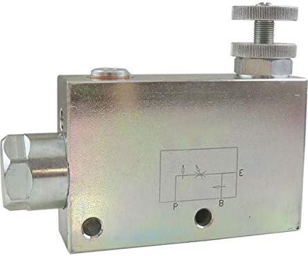 regulador de cantidad construcci/ón de tuber/ías V/álvula hidr/áulica G1//2. v/álvula de regulaci/ón de corriente de 3 v/ías