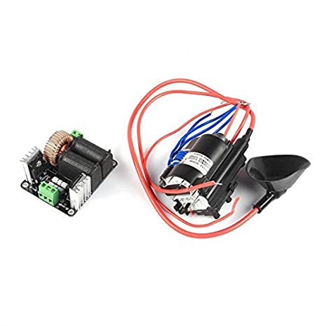 SainSmart Zero Voltage Switching Tesla Coil Flyback Driver for Sgtc /Marx  Generator/jacob's Ladder + Ignition Coil