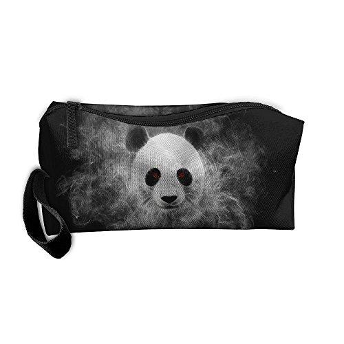 Jessent Coin Pouch Panda Killer Pen Holder Clutch Wristlet Wallets Purse Portable Storage Case Cosmetic Bags -