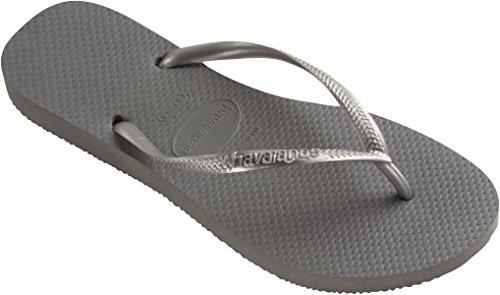 Gris 37 Brazilian steel Tongs 40 5178 Slim 38 Eu Havaianas Femme Grey 39 waZxf