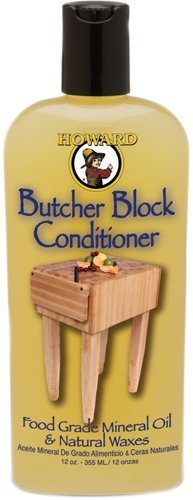 Price comparison product image Howard BBC012 Butcher Block Conditioners (2 Pack,  12 oz)