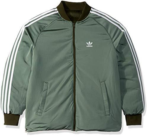 Reversible Adidas Jacket (adidas Originals Men's Superstar Reversible Jacket, Night Cargo XS)